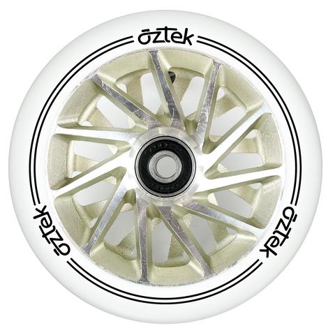 Пара колёс для самоката AZTEK Ermine XL (Ivory)