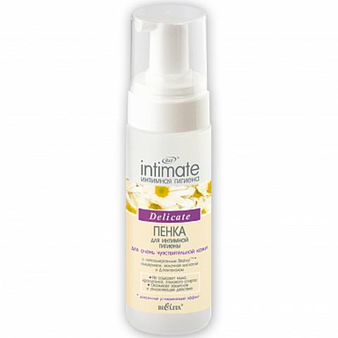 Белита Intimate Пенка для интимной гигиены для очень чувствительной кожи Delicate 175мл