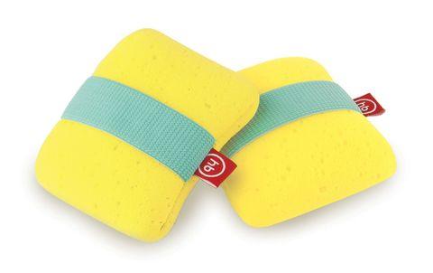 Мочалка с резинкой на руку Happy Baby Sponge Yellow