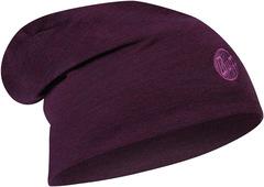 Теплая шерстяная шапка-бини Buff Hat Wool Heavyweight Purplish Multi Stripes