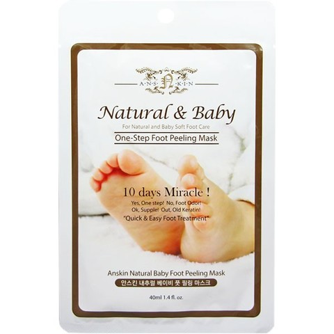 ANSKIN Пилинг для ног Natural Baby Foot Peeling Mask / Sheet