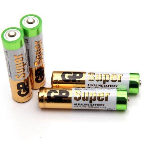 Батарейки GP Alkaline LR03, AAA (копия) (24A-S2)
