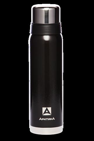 Термос Арктика (106-900 чёрный) 0,9 литра с узким горлом американский дизайн, черный