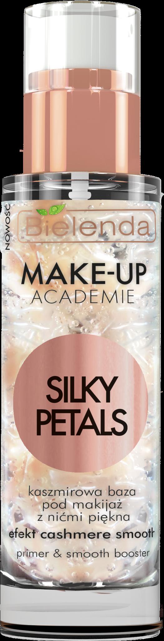 MAKE-UP ACADEMIE SILKY PETALS кашемировая база под макияж с косметическими нитями, 30 г