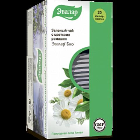 Эвалар БИО чай Зеленый 20 ф/п