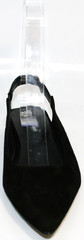 Босоножки с закрытым носом и открытой пяткой Kluchini 5183 Black.