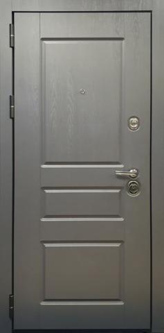 Входная дверь ACOUSTIC X (Секвоя графит)