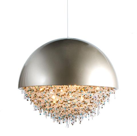 Подвесной светильник Ozero by Manooi D60 (хром)