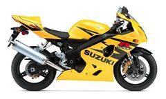 Набор наклеек Suzuki gsx-r 600 2004, желтый пластик