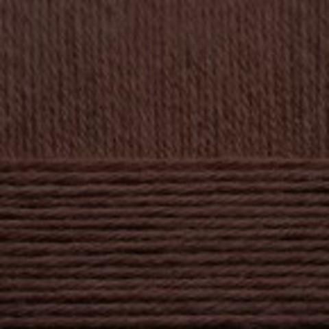 Купить Пряжа Пехорка Детский каприз Код цвета 251-Коричневый | Интернет-магазин пряжи «Пряха»