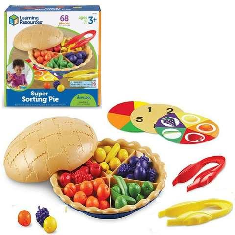 LER6216 Набор для сортировки Ягодный пирог Learning Resources