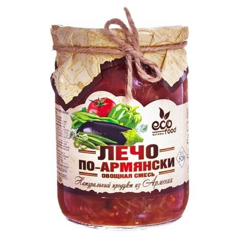 Лечо по-армянски Ecofood, 520г