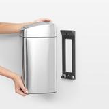 Прямоугольный мусорный бак Touch Bin (10 л, артикул 477225, производитель - Brabantia, фото 8