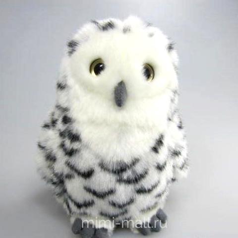 Мягкая игрушка Полярная сова 18 см (Leosco)