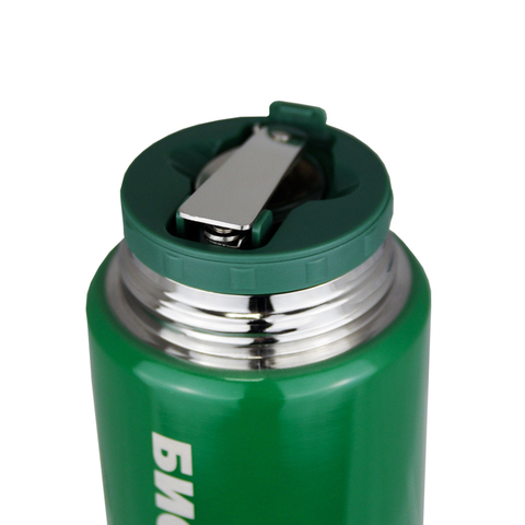 Термос для еды Biostal Охота (0,5 литра), с ложкой, зеленый