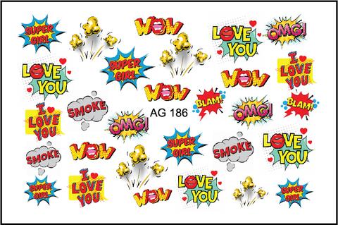 AG Аэрография слайдер дизайн 186