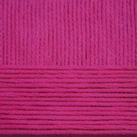 Купить Пряжа Пехорка Детский каприз Код цвета 523-Яр. цикламен | Интернет-магазин пряжи «Пряха»