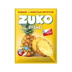 Растворимый напиток Zuko Ананас (блок 12 пакетов)