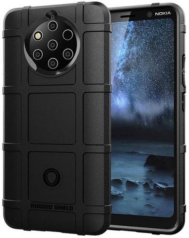 Чехол Nokia 9 PureView цвет Black (черный), серия Armor, Caseport