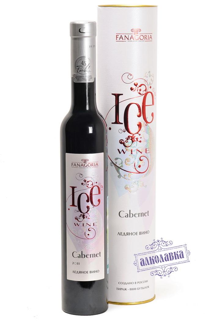 ВИНО ФАНАГОРИИ ICE WINE ЛЕДЯНОЕ КАБЕРНЕ 0,375л 12%