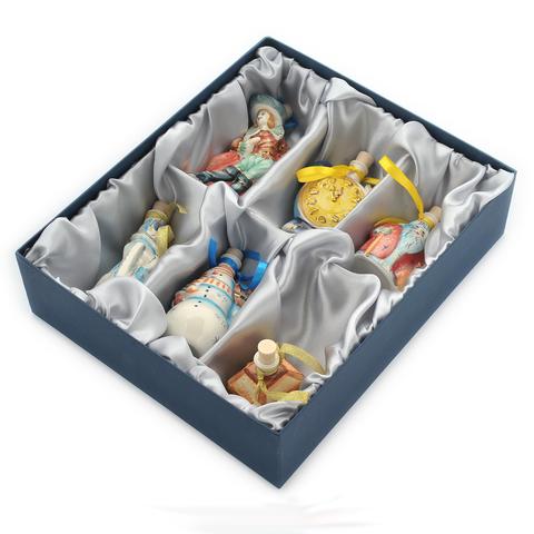 Подарочный набор мини-штофов №1 - 6шт
