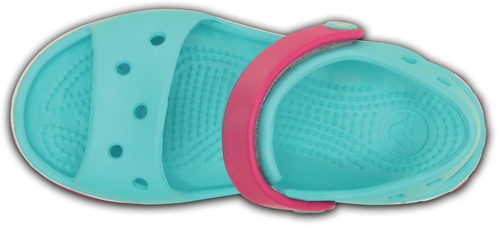 Детские сандалии CROCS Crocband™ Сэндл Кидс Пул/Кэнди Пинк