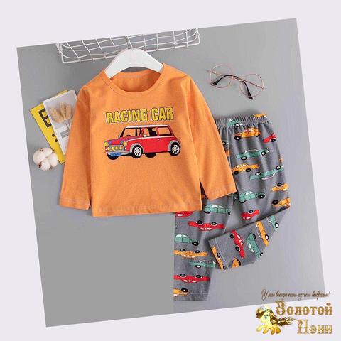 Пижама хлопок мальчику (6-9) 200926-П1505