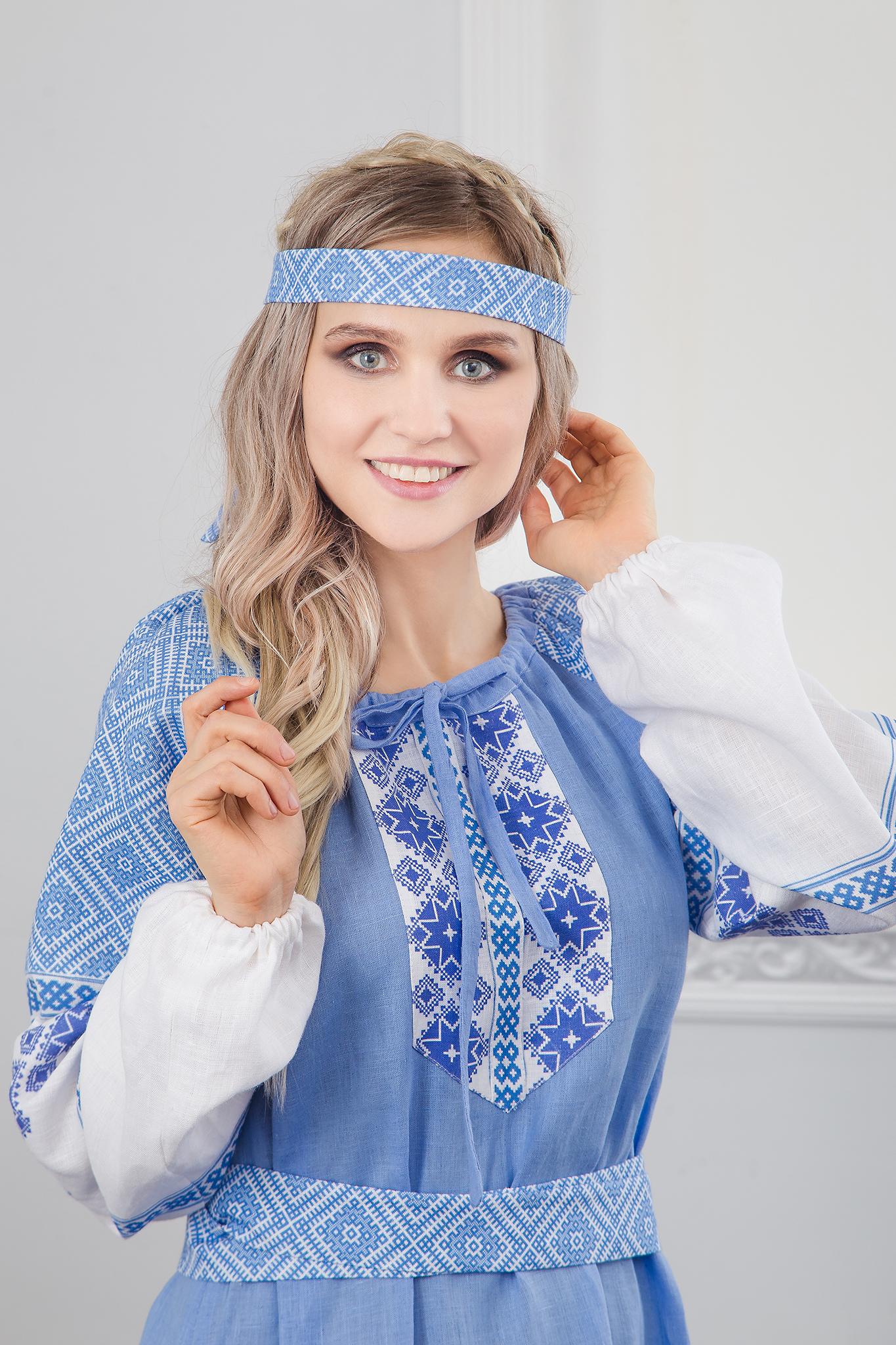 Платье Репейник счастья приближенный фрагмент