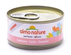 Консервы (банка) Almo Nature Legend Adult Cat Salmon