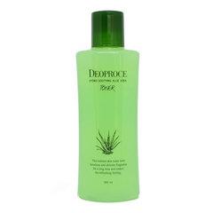 Deoproce Hydro Soothing Aloe Vera Toner - Успокаивающий тонер для лица с алоэ