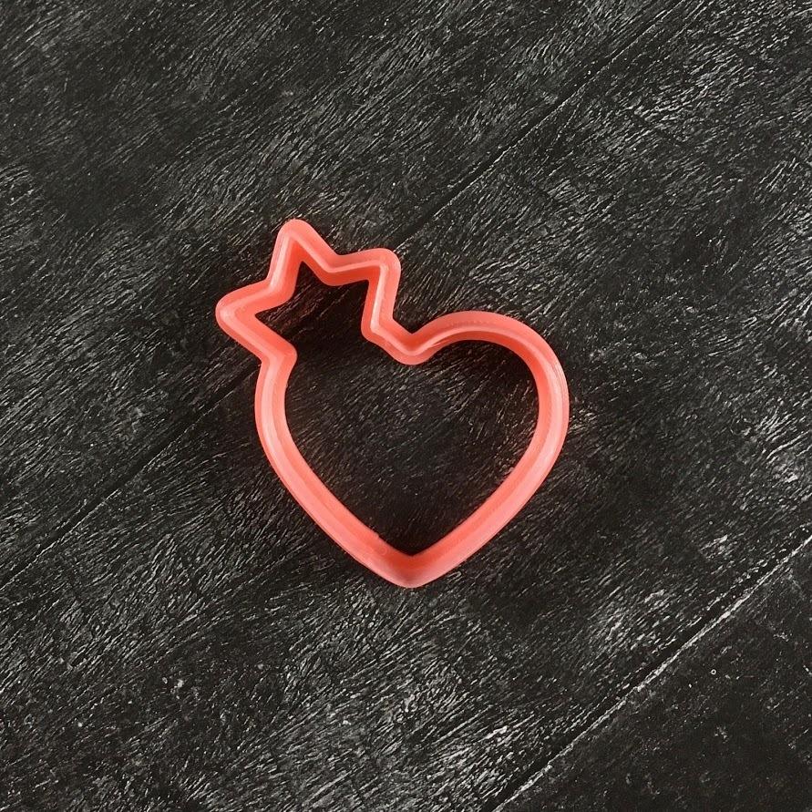 Сердце №13 с короной