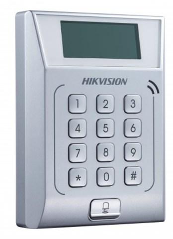 Терминал доступа  DS-K1T802M со встроенным считывателем Mifare карт