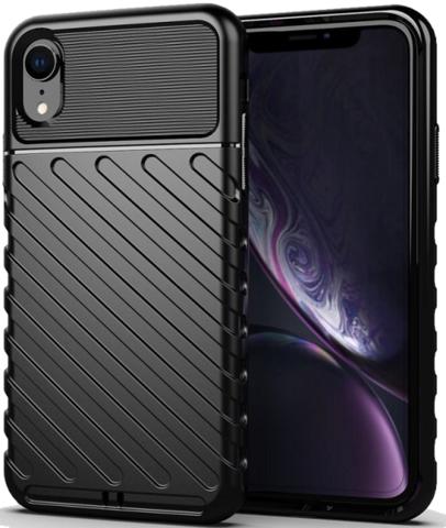 Чехол iPhone XR цвет Black (черный), серия Onyx, Caseport