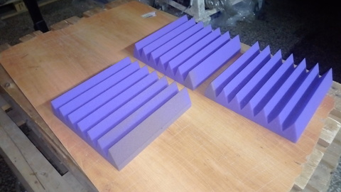 Акустический поролон ECHOTON Klin 50 фиолетовый