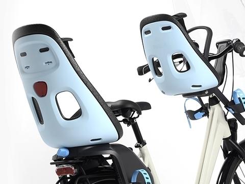 Картинка велокресло Thule Yepp Nexxt Mini голубое