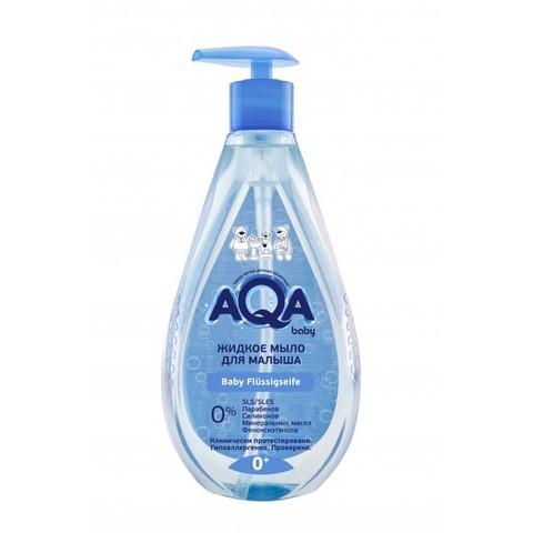AQA baby. Жидкое мыло детское с дозатором 0+, 250 мл