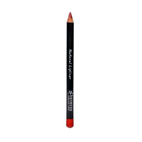 Карандаш для губ контурный «Красный» натуральный Benecos, 1,13 гр