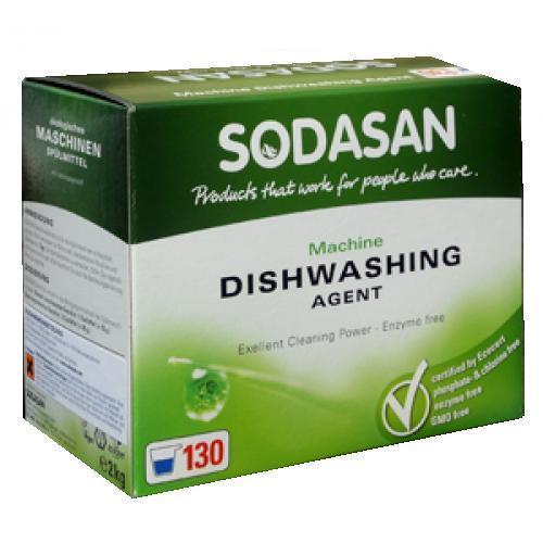 Порошок-концентрат для посудомоечных машин, Sodasan, 2 кг