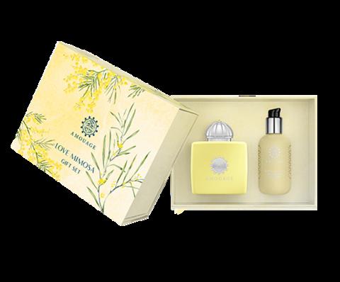 Amouage Love Mimosa woman (Парфюмированная вода 100 мл + Лосьон для тела 100мл)