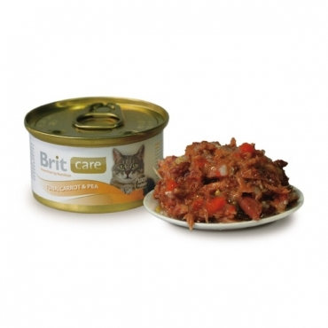 Brit Консервы для кошек, Brit Care тунец, с морковью и горошком brit-care-konservu-tunets-2.jpg