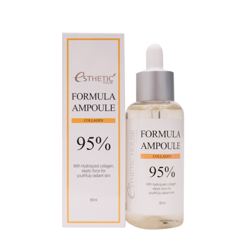 Восстанавливающая сыворотка для лица с коллагеном Formula Ampoule Collagen, 80 мл