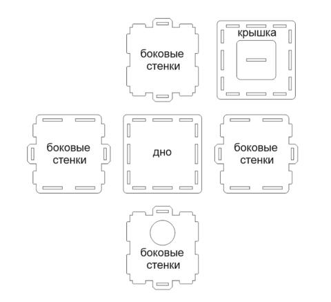схема сборки арена А50