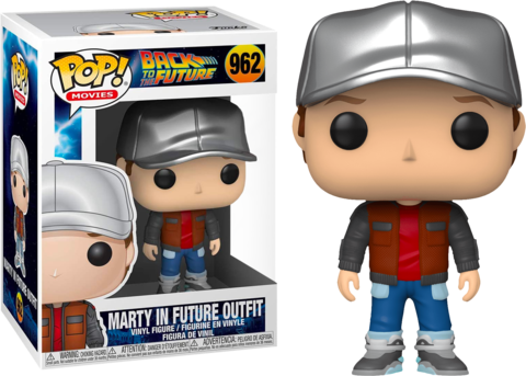 Фигурка Funko Pop! Movies: Back to the Future - Marty in Future Outfit