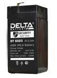 Аккумулятор Delta DT 6023 ( 6V 2,3Ah / 6В 2,3Ач ) - фотография