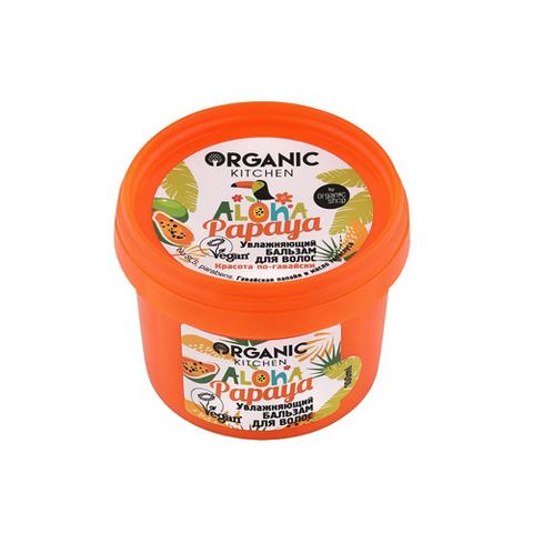 "Бальзам для волос ""Aloha papaya"" | 100 мл | Organic Kitchen"