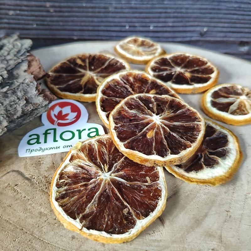 Фотография Чипсы фруктовые Лимон, 50 г купить в магазине Афлора