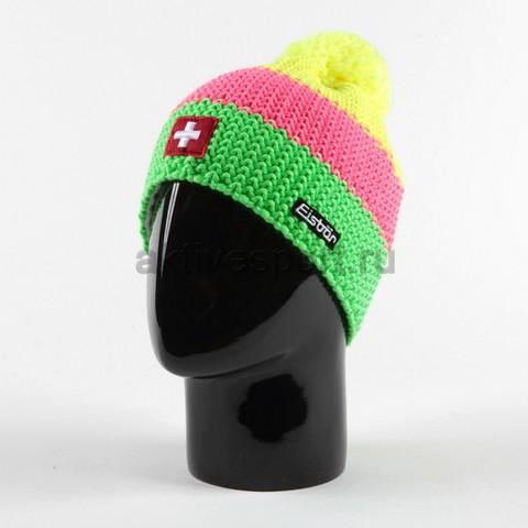 Картинка шапка Eisbar star neon pompon ch 959