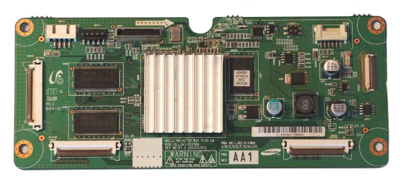 42HD Main Logic CTRL Board LJ41-05136A LJ92-01496A телевизора Samsung