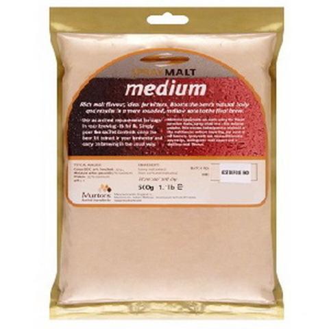 Неохмеленный солодовый экстракт Muntons Medium 500 г