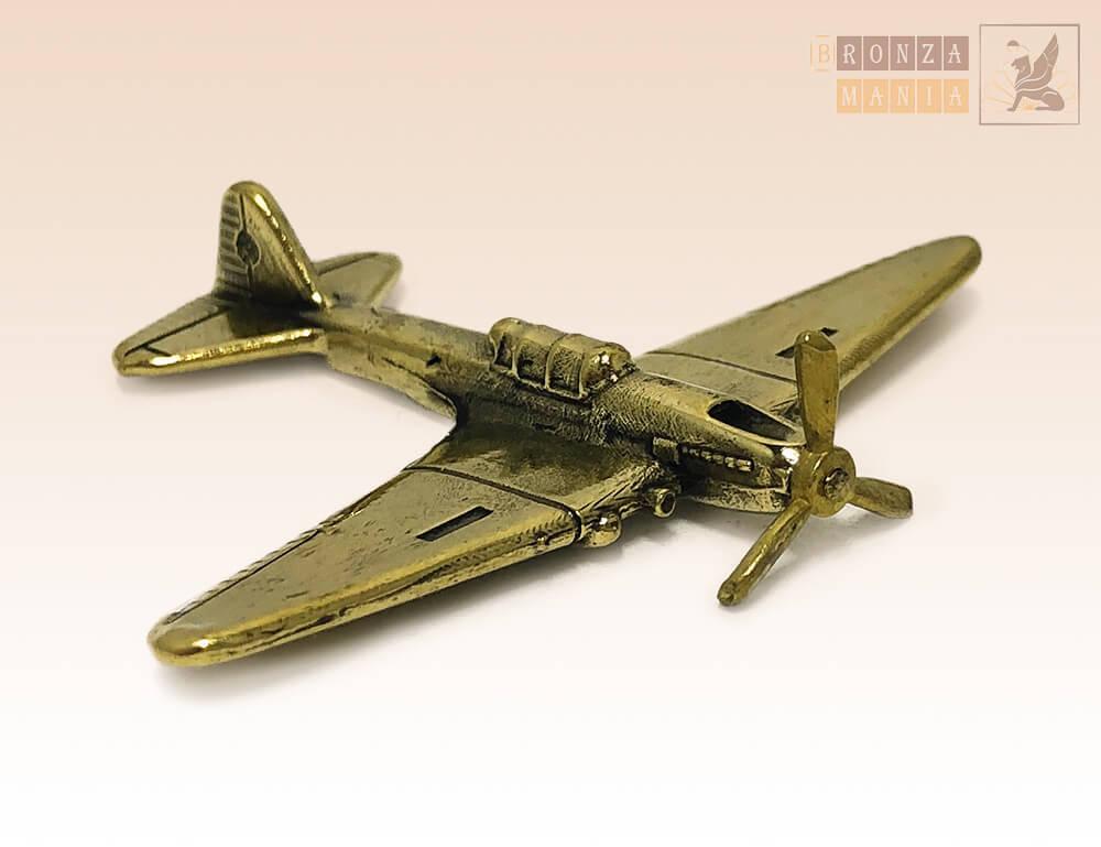 фигурка Самолет Штурмовик ИЛ-2 малый